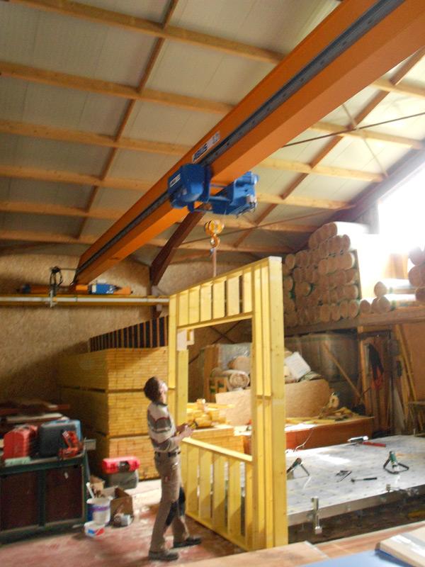 construction maison ossature bois dieppe mec dacheux 76 pose charpente seine maritime